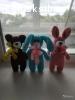 Вязаные плюшевые игрушки